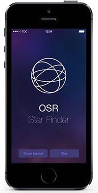 App da installare nel telefono per vedere la Tua stella.