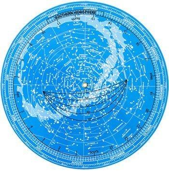 Mappa Celeste Girevole