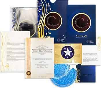 pacchetto regalo stella completo