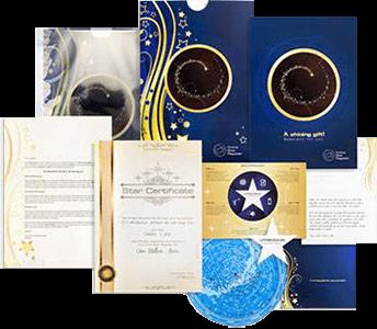 Regalare una stella: Il cofanetto regalo con CD per vedere dove si trova la tua stella