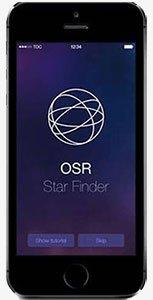 L'App da installare nel telefono per vedere la Tua stella.
